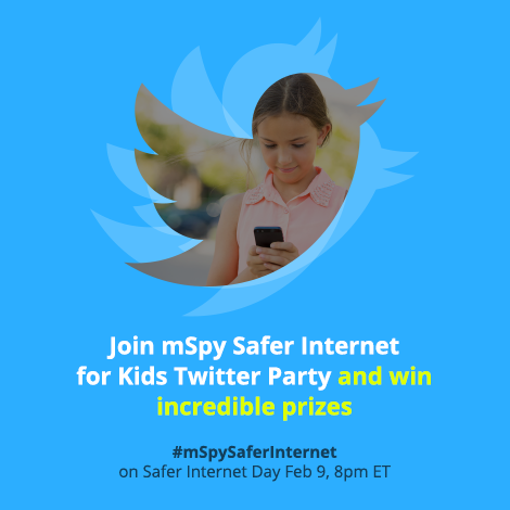 mSpy supports Safer Internet Day and arranges #mSpySaferInternet Twitter Party