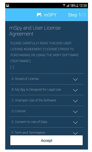 Android agreement
