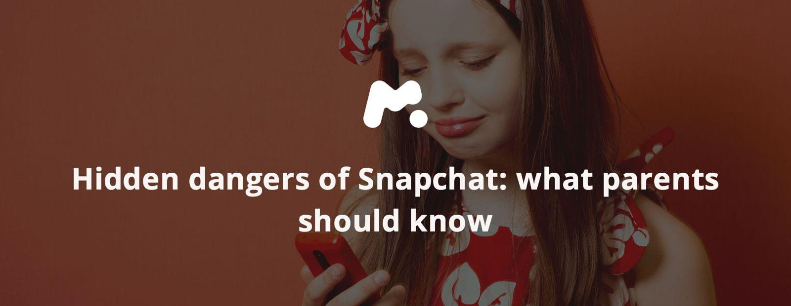 Hidden dangers of Snapchat: what parents should know