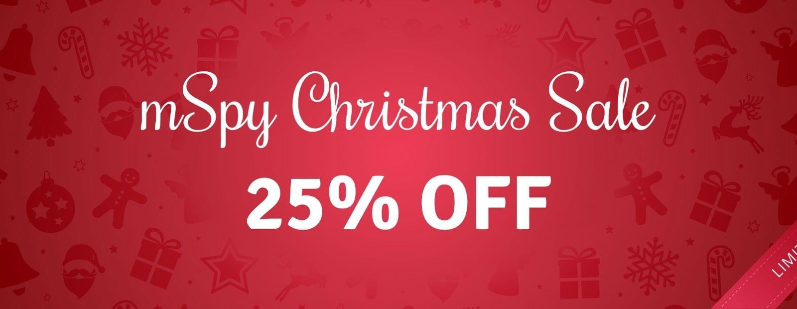 mSpy Christmas Sale