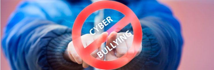 Cyberbullying is identifiable with keylogger