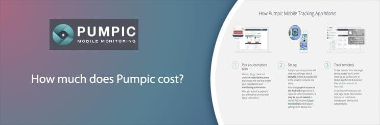 How much does Pumpic cost?