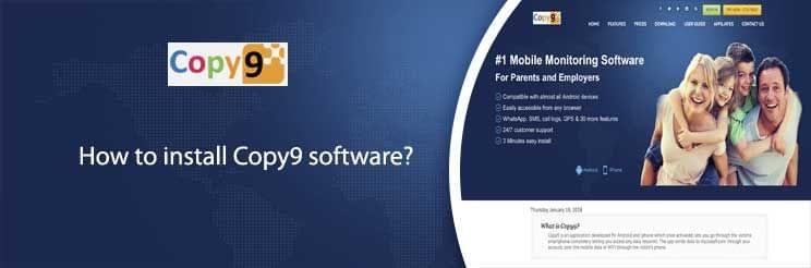 How to install Copy9 software?