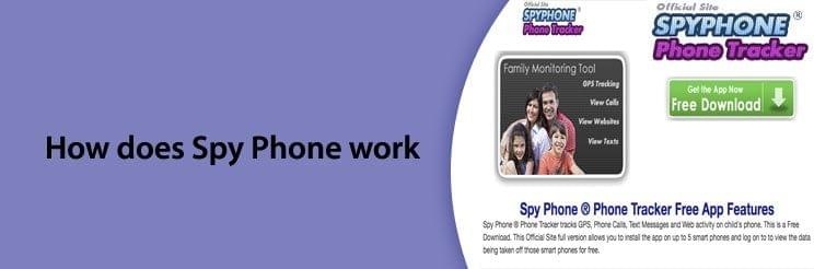 How does Spy Phone work