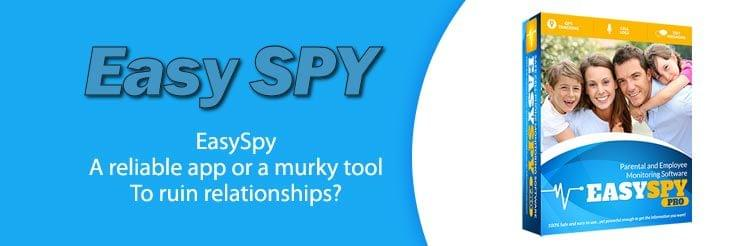 What makes EasySPY a dubious spy app to track romantic partners