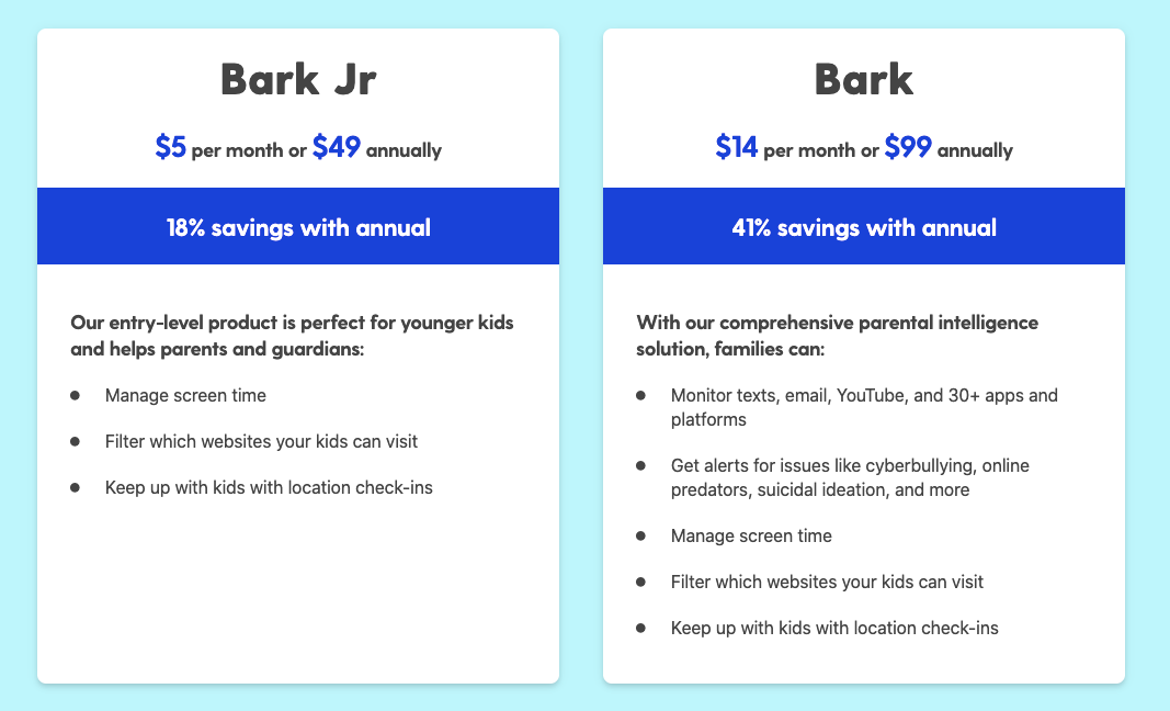 bark software